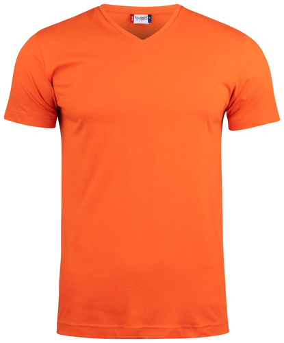 T- SHIRT SCOLLO A V `BASIC-T V-NECK`