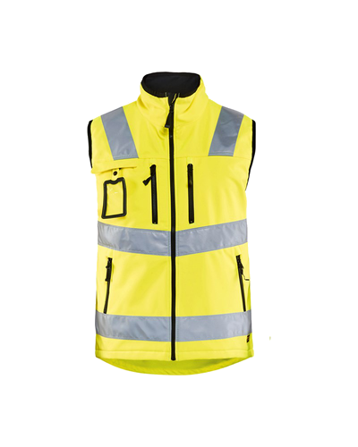 GILET SOFTSHELL HIGH-VIS