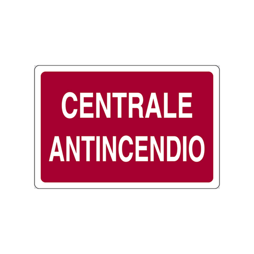 CART.INFORM.`CENTRALE ANTINCENDIO` mm300x200