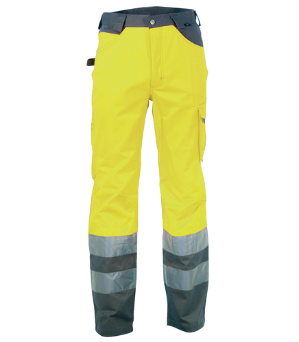 PANTALONE RAY EN20471 A.V FLUO/ANTRACITE